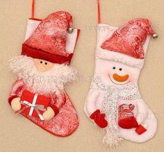 Ремеко. Каталог подарков. Купить оптом Носок для подарков, 48 см, 2 в. Мягкая игрушка,текстиль арт. 160406  по низким ценам купить оптом в интернет магазине Ремеко.