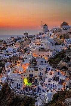 Santorini, Greece by George Papapostolou