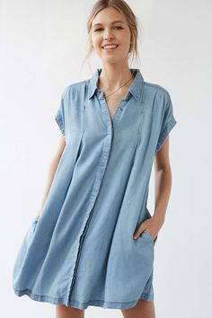 Cooperative Charmane Chambray Dress