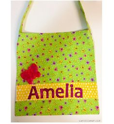 Library Bag with Name Applique_thumb