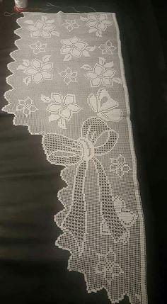 Crochet Curtain Pattern, Crochet Curtains, Curtain Patterns, Crochet Patterns, Crochet Stars, Crochet Lace, Flower Curtain, Filet Crochet Charts, Fillet Crochet