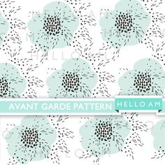 You've Pin spotted me! Repin me and get a 30% off your purchase at HelloAm! Key in discount code: SPOTTEDPINTEREST0  Digital Paper Pack Avant Garde Pattern Raindrop Dots by HelloAm