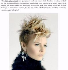 short edgy hairstyles for fine hairs cool short edgy hairstyles cool short hairs… short edgy hairstyles for fine hairs cool short edgy hairstyles cool short hairstyle for black women Related posts:Short Spiky Hairstyles Women Short Spiky Hairstyles, Edgy Haircuts, Girl Hairstyles, Female Hairstyles, 2015 Hairstyles, Straight Haircuts, Shaved Hairstyles, Pixie Haircuts, Hair Styles 2014