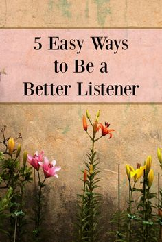 5 Easy Ways to Be a Better Listener - good things Realized Being a good listener doesn't come naturally for most of us. Find out how to listen and communicate the best way with these five simple tips. Good Listener, Listening Skills, Communication Skills, Relationship Advice, Relationships, Social Work, Life Lessons, Life Tips, Self Improvement