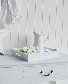White Living Room White Home Decor And Accessories For Coastal French Scandinavian