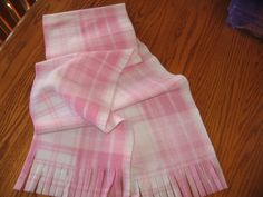 Pink Plaid Fleece Monogrammed Scarf by MoMaCreates on Etsy Monogrammed Scarf, Shops, Plaid, Summer Dresses, Cyber Monday, Trending Outfits, Handmade Gifts, Pink, Etsy