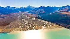 Amazing photos of Tasman River South Island New Zealand