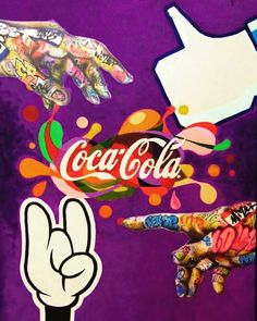 Školská práca :) akryl na plátne Painting Logo, Insta Art, Coca Cola, Mickey Mouse, Logos, Creative, Artist, Artwork, Fictional Characters