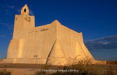 Mosque of Sidi Satouri, distinctive Jerban mosque, Jerba, Tunisia