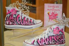 >>>Cheap Sale OFF! >>>Visit>> Love this idea for mija but in black white Quinceanera converse style shoes Invitations Quinceanera, Quinceanera Shoes, Quinceanera Planning, Quinceanera Party, Sweet 15, Sweet Fifteen, Quince Decorations, Quinceanera Decorations, Converse Style