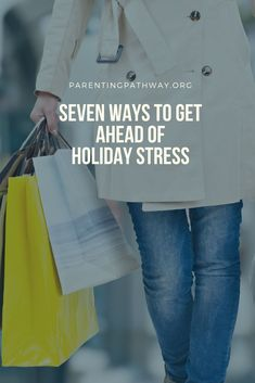 If you are like me, the anxiousness of the holiday season is already growing as my to do list has grown. This week at Parenting Pathway we have seven ideas to help you get ahead of your holiday stress. Holiday Stress, Anxious, Pathways, Encouragement, Parenting, How To Get, Holidays, Ideas, Paths