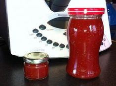 Strawberry jam creamy without pieces quickly - Food House Healthy Eating Tips, Healthy Nutrition, Desserts Thermomix, Kneading Dough, Homemade Sweets, Frozen Yoghurt, Vodka Drinks, Vegetable Drinks, Jam Recipes