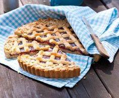 Mřížkový koláč z lineckého těsta | Recepty Albert