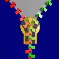 """""""How A Zipper Works"""" http://www.lifehack.org/articles/lifestyle/16-gifs-make-mechanism-expert.html?utm_term=0_983e966a3e-1fc3b054f7-415115113&utm_content=buffer48d9b&utm_medium=social&utm_source=pinterest.com&utm_campaign=buffer #Mechanisms"""