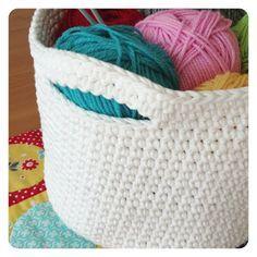 Sheree Forcier: A new crochet basket...