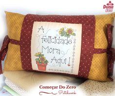 Fazer o quê você ama, ali mora a felicidade!  #patchworktransforma www.dunaatelier.com.br/patchwork/