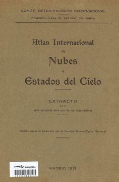 Atlas internacional de nubes y estados del cielo