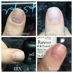 IBX manicure results