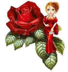 Candy Doll Animadas: Candy Flores Animadas