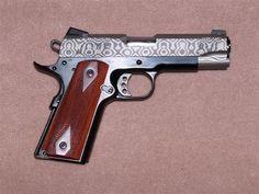 Caspian Arms Ltd. Commander Damascus Slide