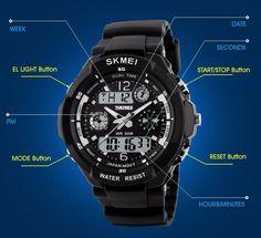 Digital Alarm Military Watch – uShopnow store