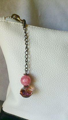 Handmade purse charm / purse accessories / by CharmsAnTreasures, $11.00