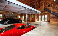 Now that's a cool garage