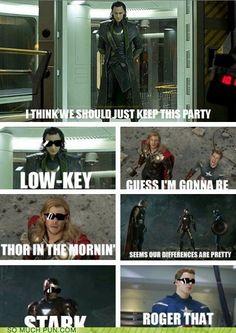 funny puns - The Avengers