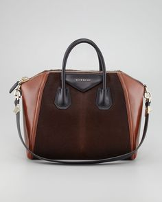 Givenchy Antigona Calf Hair Duffel Bag, Medium thestylecure.com
