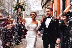 Musicians and wedding industry professionals Tim Reynolds and Lauren Johnson of Next Level Music gave their guests something to remember at their winter wedding. Click the link to view the full wedding album! Lauren Johnson, Rick Astley, Winter Wonderland Wedding, Wedding Confetti, Wedding Album, Industrial Wedding, Real Weddings, Musicians, Wedding Photography