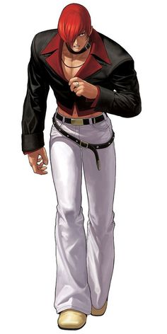 Iori Yagami from The King of Fighters XII #IoriYagami #TheKingofFightersXII #cosplayclass