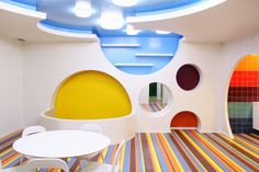 Kalorias Children Center | Oeiras | Portugal | Leisure or entertainment venues 2014 | WIN Awards | Wow,, i really like the ceiling design