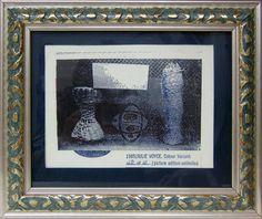 #12 | Artist: Julie Voyce | Title: Colour Variant | Medium: Print 1B of 10 | 1985 | Framed: 10 in. x 12 in.