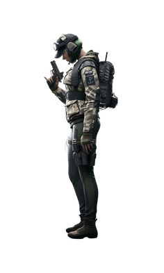 """Elżbieta """"Ela"""" Bosak is a Defending Operator featured in Tom Clancy's Rainbow Six Siege, introduced in the Operation Blood Orchid expansion alongside Ying and Lesion. Ela will also be an Operator featured in Tom Clancy's Rainbow Six Quarantine. Rainbow Six Siege Anime, Rainbow 6 Seige, Tom Clancy's Rainbow Six, Ela Bosak, Siege Operators, R6 Wallpaper, Computer Gaming Room, Girl Inspiration, Know Your Meme"""