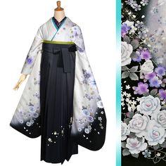ゴージャス袴R1162 Kimono Japan, Japanese Kimono, Kimono Design, Japanese Outfits, Kimono Dress, Doraemon, Yukata, Hanfu, Lolita Dress