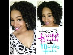 #62. How To: Crochet Braids w/ Marley Hair - YouTube