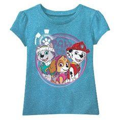 Toddler Girls' Paw Patrol T-Shirt - Purple