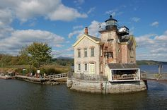 Rent a room at the Saugerties, NY lighthouse