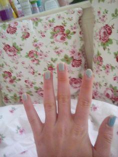 Meine Nägel nach einer Woche