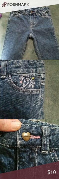 Carhartt jeans Adorable little girls jeans as you can see in the pictures. No stains or rips Carhartt Bottoms Jeans