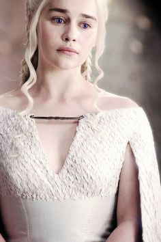 ♕ All hail Daenerys Stormborn of House Targaryen, Queen of the Andals and the First Men, Queen of Mereen, Breaker of Shackles, and Mother of Dragons.