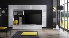 funky tv wall units - Google Search