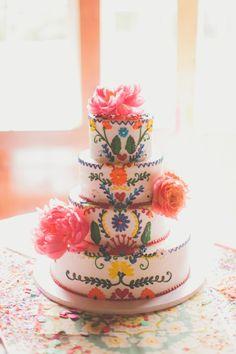 Mexican Cake. ¡Que pastel tan hermoso!