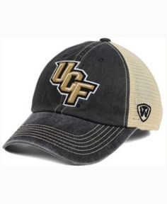 02e09c7a432 Top of the World Ucf Knights Wicker Mesh Cap - Black Tan Adjustable College  Hats