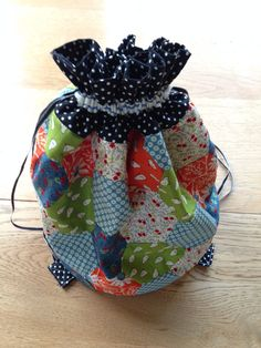 Dilly Bag Pattern on A Very Fine House blog site