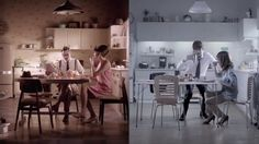 Coca-Cola ad showing healthy lifestyle of grandfather vs. grandson....good discussion of changes associated with eating and life style and technology.