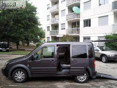 ford connect tourneo  rampe fauteuil roulant