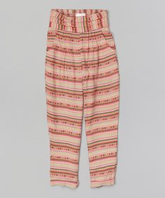 Pink Dot Stripe Pants
