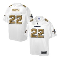 Nike Dallas Cowboys Men s  22 Emmitt Smith Game White Pro Line Fashion NFL  Jersey Martavis da02da8cf