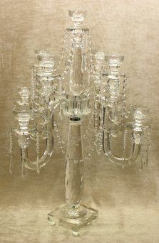 Crystal Candelabras from Chichi Furniture - adding a touch of warmth and ambience to your home this autumn. http://www.chichifurniture.com/products/lighting/crystal-candelabras/